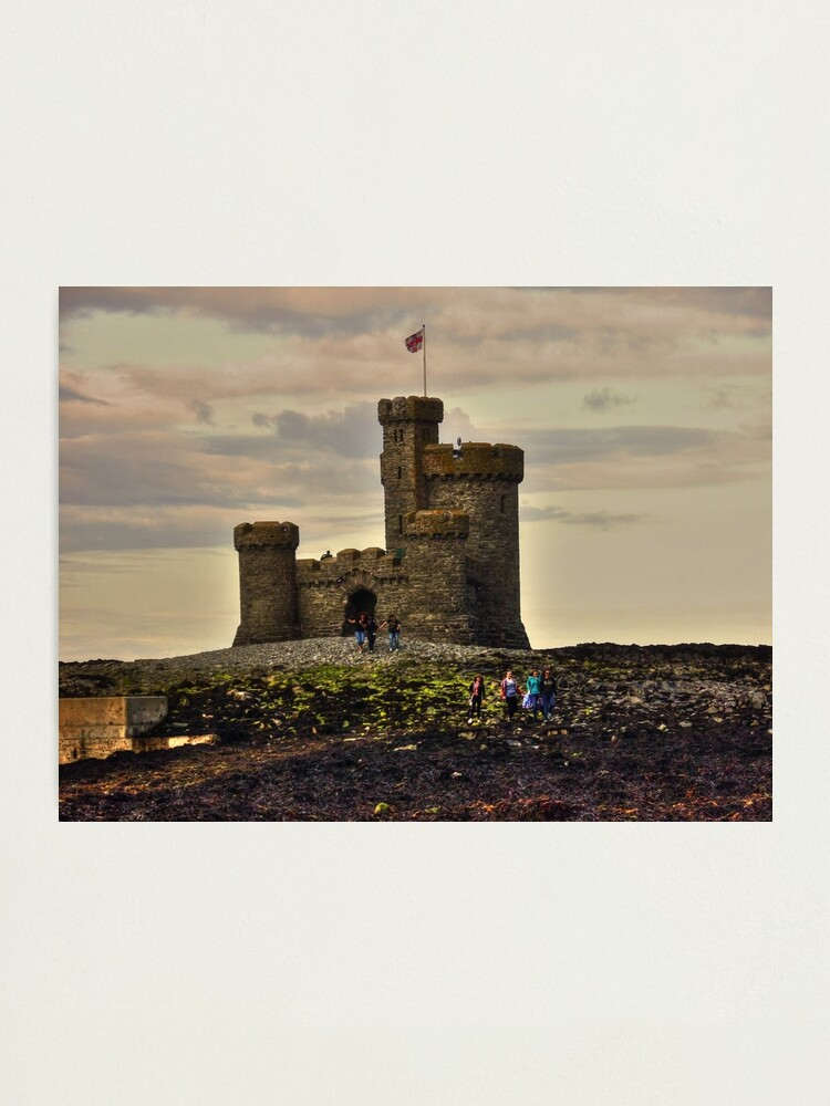 Alternate view of Walk to the Tower of Refuge Photographic Print