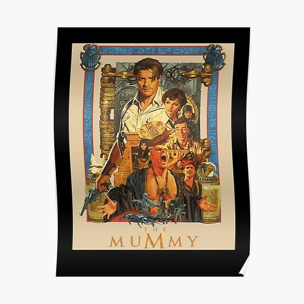 Brendan, Fraser poster- the Mummy classic Poster