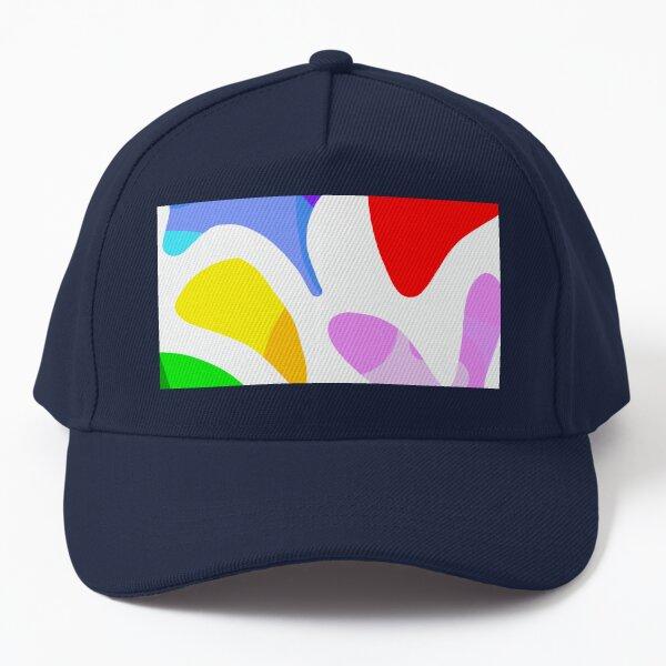 Matisse Summer Shapes Close-up Nº1 - Minimal & colourful pattern Baseball Cap