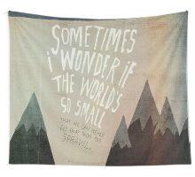 Arcade Fire Lyrics Wall Tapestry