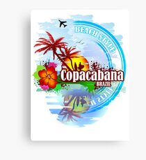 Copacabana Brazil Canvas Print