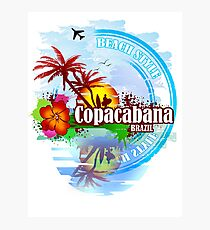 Copacabana Brazil Photographic Print