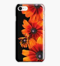 Orange Sunflowers  iPhone Case/Skin