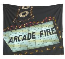 Arcade Fire Theater Wall Tapestry