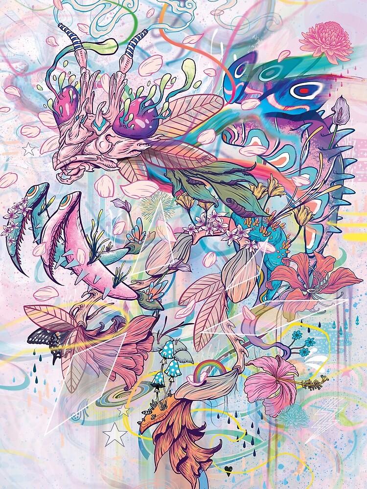 Flower Mantis by MatMiller