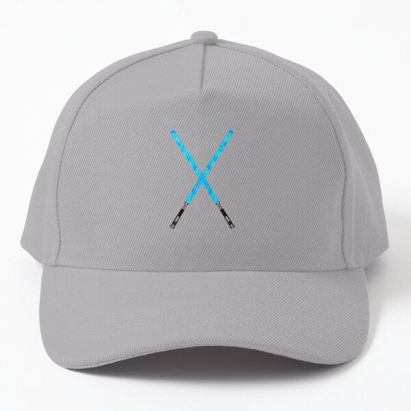Blue Acrylic Lightsabers  Baseball Cap
