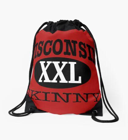 Wisconsin Skinny XXL Drawstring Bag