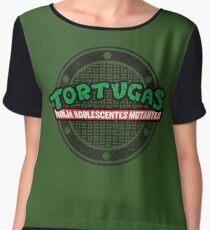 Tortugas Ninja Chiffon Top