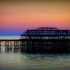 West Pier ©  by Dawn Becker