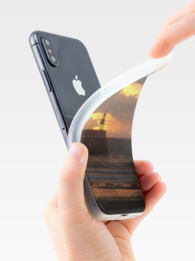 Alternate view of Port Erin Sunset iPhone Case & Cover