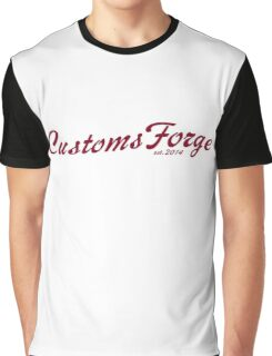 CustomsForge old-timey logo Graphic T-Shirt