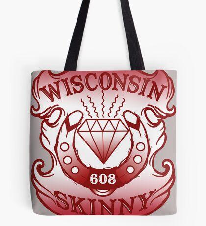 Wisconsin Skinny Shield Tote Bag