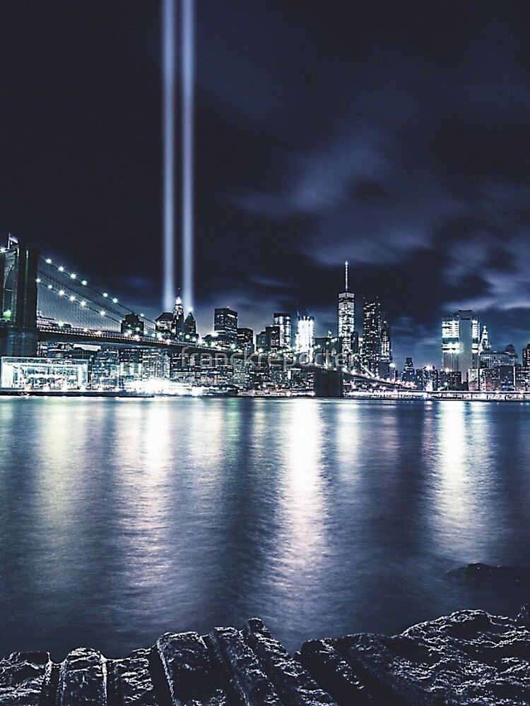 Nyc Skyline für 11 September von franckreporter