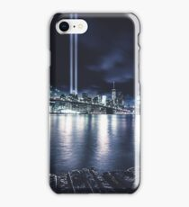 nyc skyline for 11 september iPhone Case/Skin