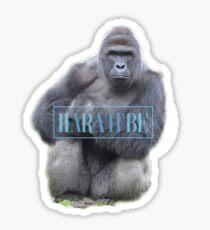 adpi harambe Sticker
