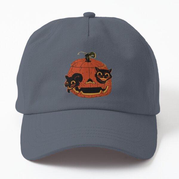 Vintage Halloween Black Cats - Scaredy Cat Dad Hat