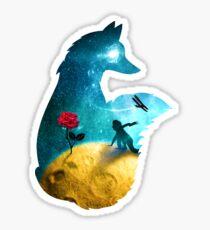 The Most Beautiful Thing (dark version) Sticker
