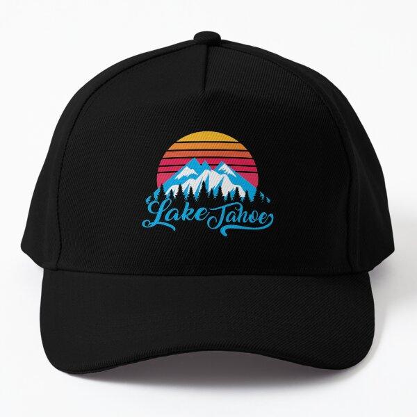 Lake Tahoe - Sierra Nevada Mountain  Baseball Cap