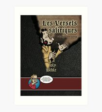 The satirical verses Art Print