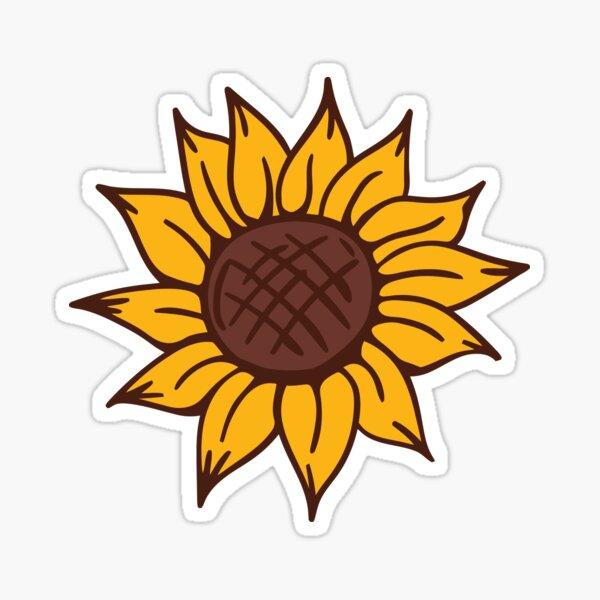 Sunflower gift Sticker