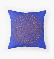 Treble Clef Fractal multicolor 91216 Throw Pillow