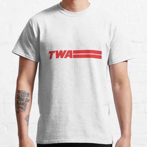 TWA Airlines - Vintage Logo Classic T-Shirt