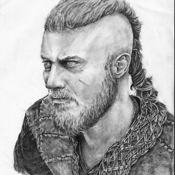 Ragnar Lothbrok by PsychoLunatic