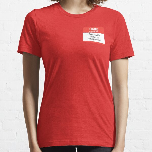 My name is Barry Allen... Essential T-Shirt