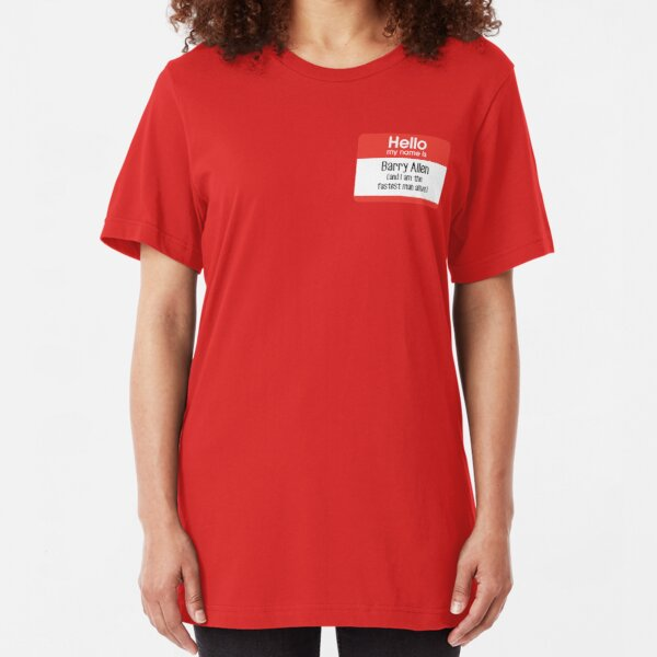 My name is Barry Allen... Slim Fit T-Shirt