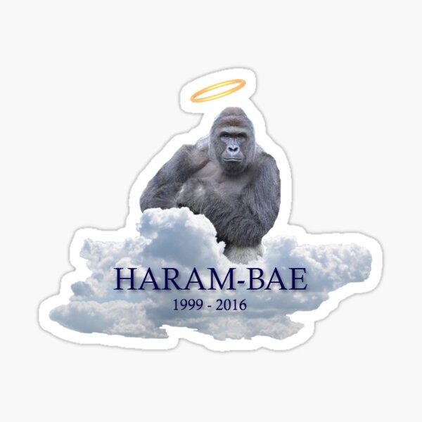Harambae Sticker