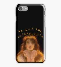 We let the weirdness in iPhone Case/Skin