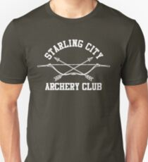 Starling City Bogenschießen Club - Arrow, Ollie Königin Unisex T-Shirt