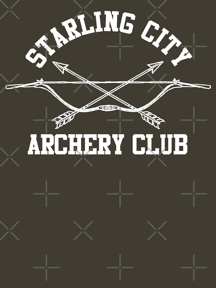 TShirtGifter presents: Starling City Archery Club  Arrow, Ollie Queen | Unisex T-Shirt