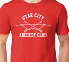 Star City Archery Club – Green Arrow, CW Unisex T-Shirt