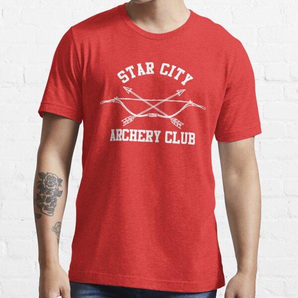 Star City Archery Club – Green Arrow, CW Essential T-Shirt