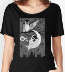 Thirsty Owl by Allie Hartley  Women's Relaxed Fit T-Shirt
