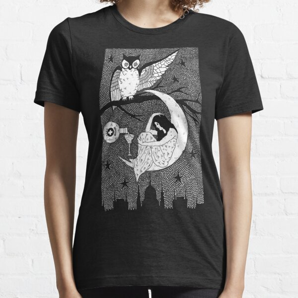 Thirsty Owl by Allie Hartley  Essential T-Shirt