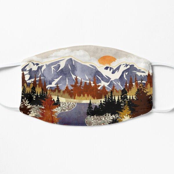 Autumn River Flat Mask