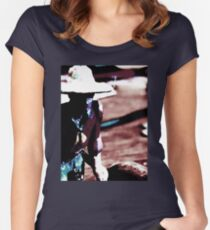 Lone. Women's Fitted Scoop T-Shirt