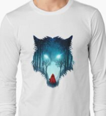 Big Bad Wolf (dark version) Long Sleeve T-Shirt