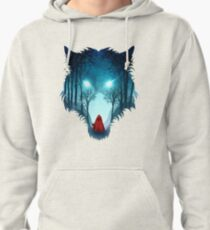 Big Bad Wolf (dark version) Pullover Hoodie