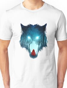 Big Bad Wolf (dark version) Unisex T-Shirt