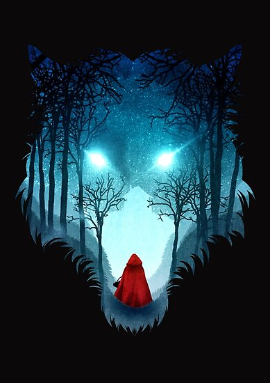 Big Bad Wolf (dark version) by DVerissimo