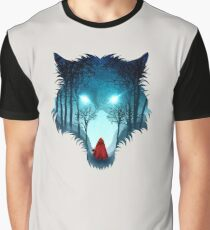 Big Bad Wolf (light version) Graphic T-Shirt