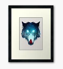 Big Bad Wolf (light version) Framed Print
