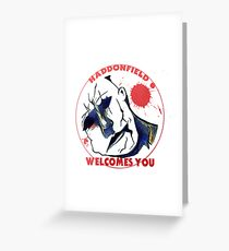Haddonfield Welcomes You Greeting Card
