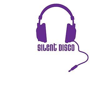 Silent Disco in Purple by amillear