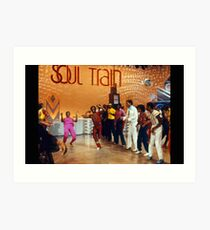SOUL TRAIN LINE Kunstdruck
