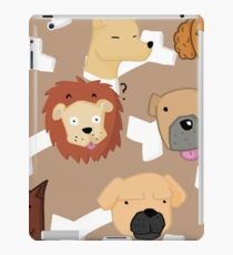 A bony situation iPad Case/Skin