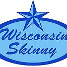 Wisconsin Skinny Blue Logo by wisconsinskinny